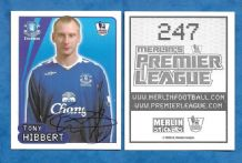 Everton Tony Hibbert 247